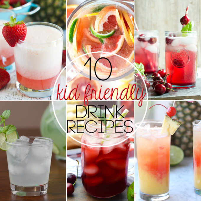 10 kid friendly drinks easy peasy meals for Summer drinks for party