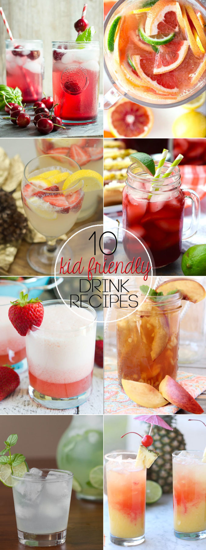 drinks kid friendly drink summer recipes cool refreshing easy tasty these party dinner thirst quench way shares meals mommy recipe
