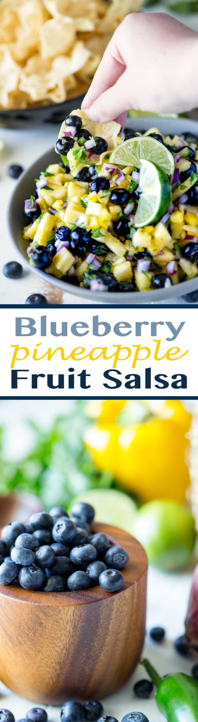 Blueberry pineapple fruit salsa eazy peazy mealz for Fruit salsa for fish