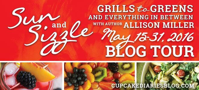 Sun and Sizzle book tour, summer grilling and greens cookbook