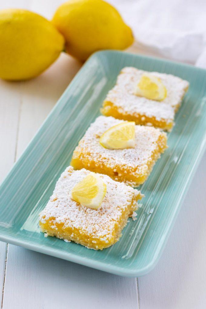Lemon Squares - Eazy Peazy Mealz