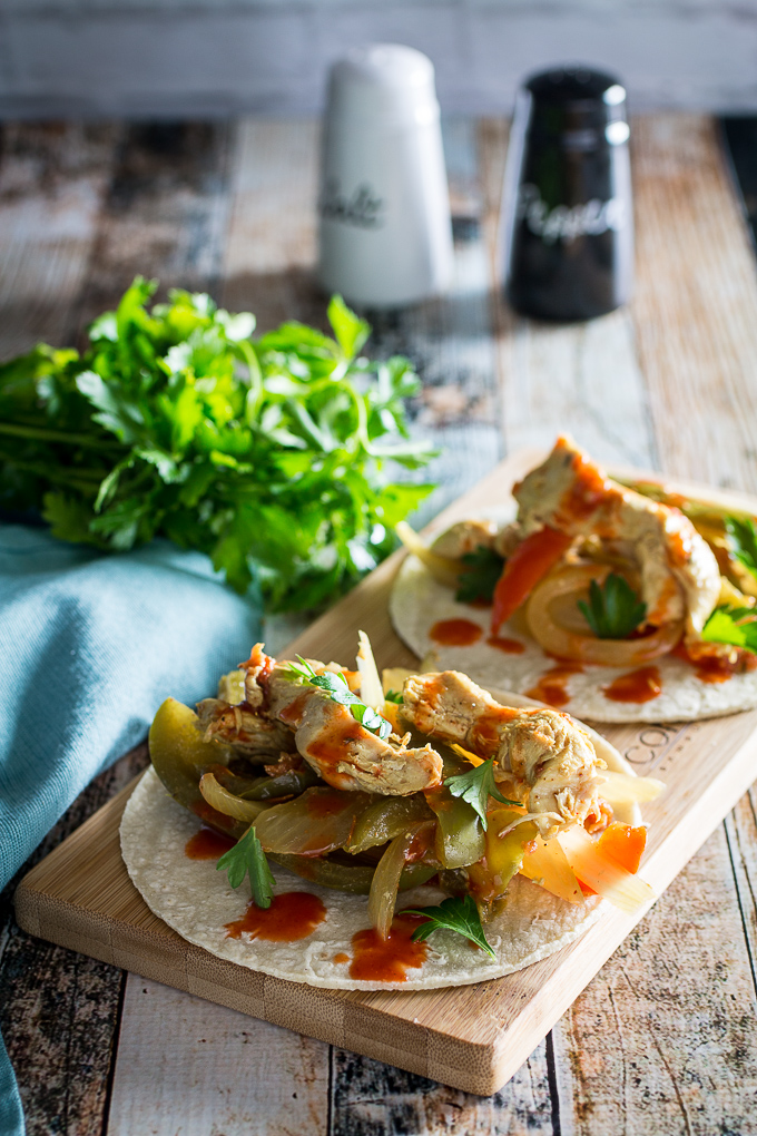 slow cooker chicken fajita recipe