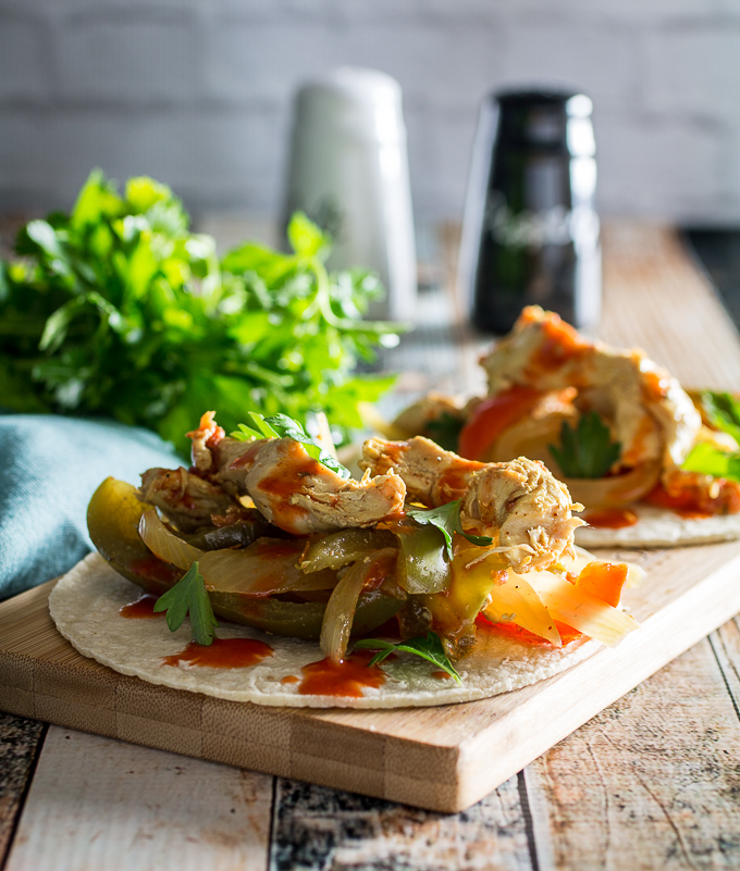 slow cooker chicken fajita recipe