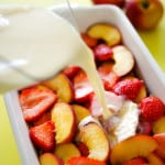 Summer Fruit Breakfast Bake