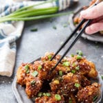 Sticky asian chicken bites