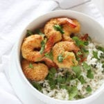 New Years Eve Appetizer coconut shrimp