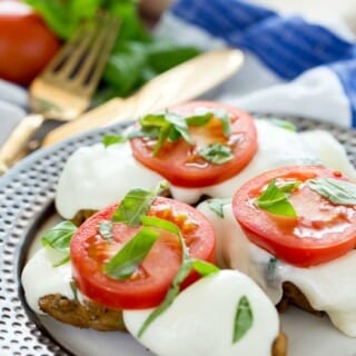 Delicious balsamic caprese chicken