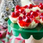 Cherry Cheesecake Tarts are delicoous and easy to make