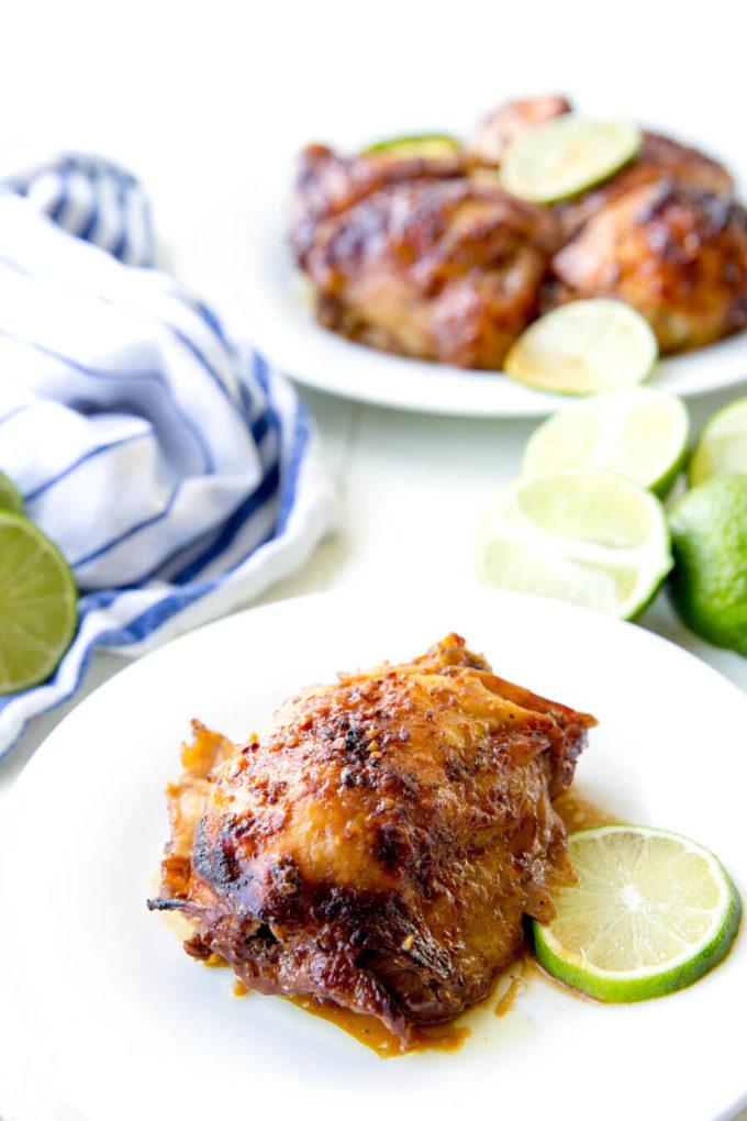 Easy Garlic Lime Chicken- Crock Pot - Eazy Peazy Mealz