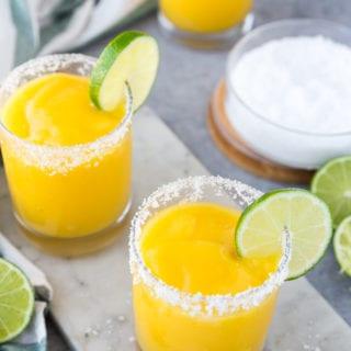 3 frozen mango margaritas