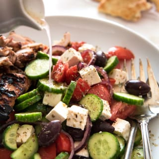 Classic (Easy) Greek Salad