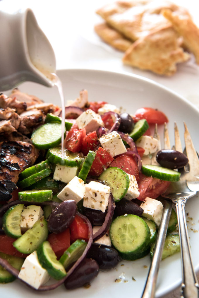 Classic Easy Greek Salad