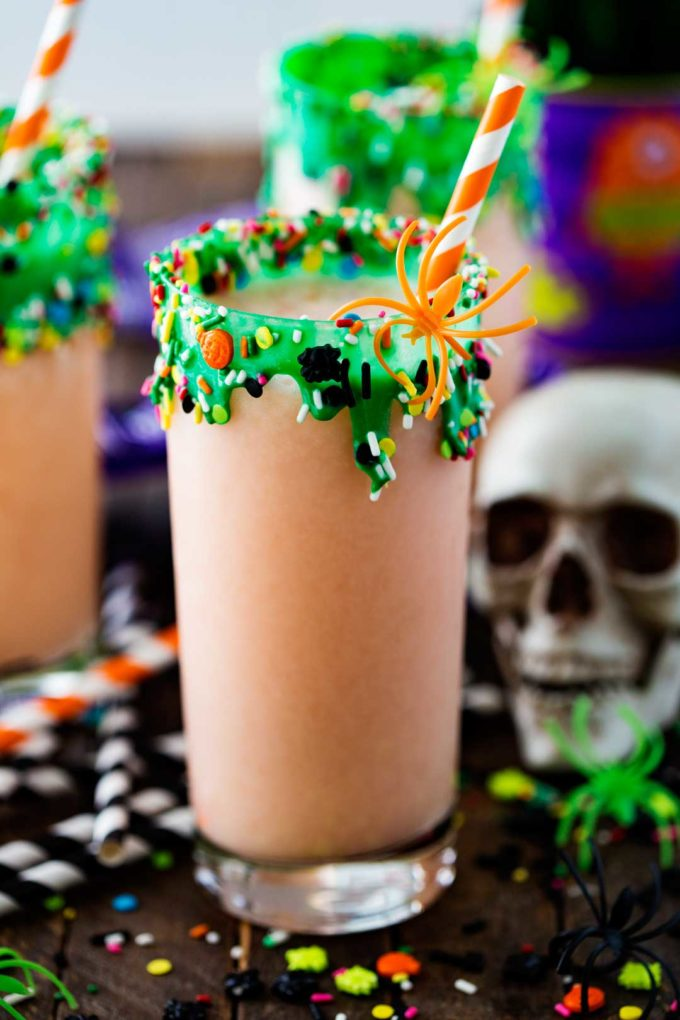 Swamp Potion Halloween Punch - Eazy Peazy Mealz