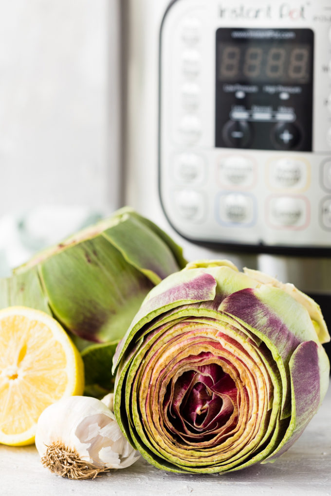 Instant Pot Artichokes. The easiest way to make artichokes ever is the instant pot pressure cooker