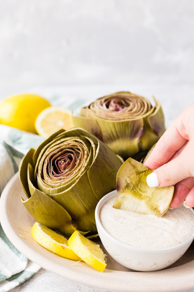 Instant Pot Artichokes Easy Peasy Meals