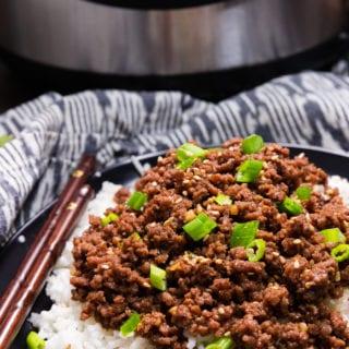 Easy instant pot (pressure cooker) Korean Beef recipe