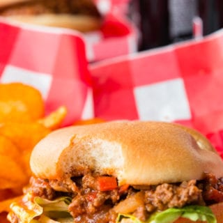 Instant Pot Sloppy Joes a great homemade sloppy Joe mixture made in the instant pot
