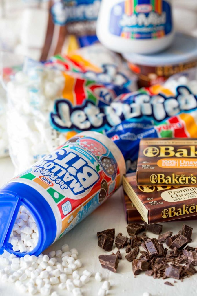 These Jet Puffed products make great treats