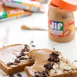 Quick Breakfast: Jif Spread Toast