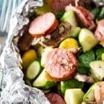 Kielbasa foil dinner recipe