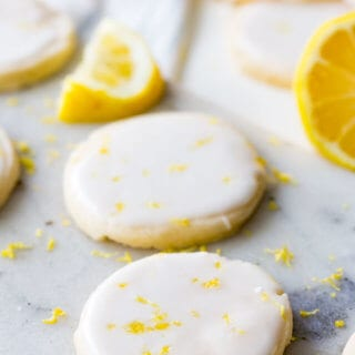 Lemon shortbread cookies are a light and buttery shortbread with a vibrant lemon flavor