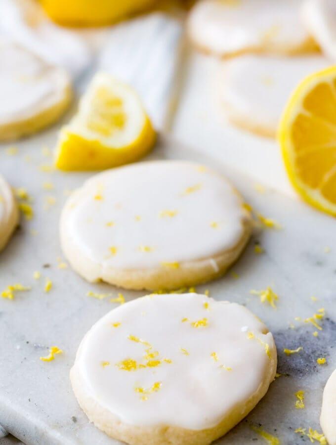 Lemon shortbread cookies are a light and buttery shortbread with a vibrant lemon flavor