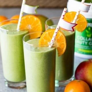 Mango Green Smoothie