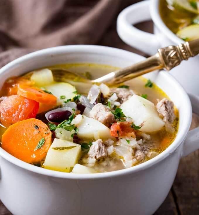 Classic Ministrone Soup