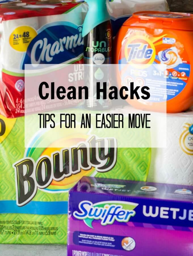 Clean Hacks to make moving easier