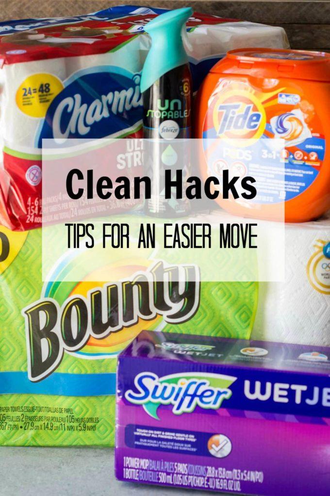 Clean Hacks to make moving easier