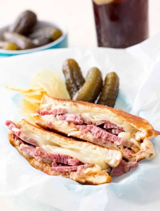 Reuben with a Twist