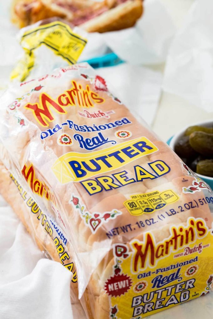Martin's bread for a reuben sandwich recipe