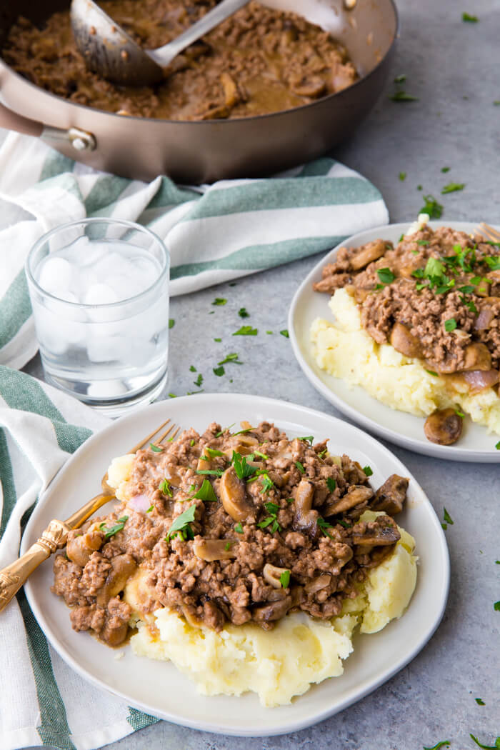 Simple to make, but delicious Salisbury steak Hamburger gravy