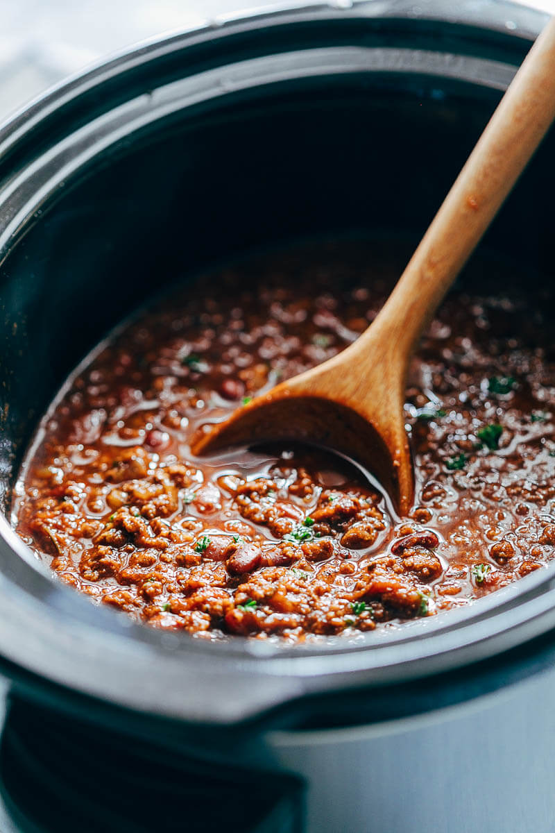 Slow cooker sweet chili recipe