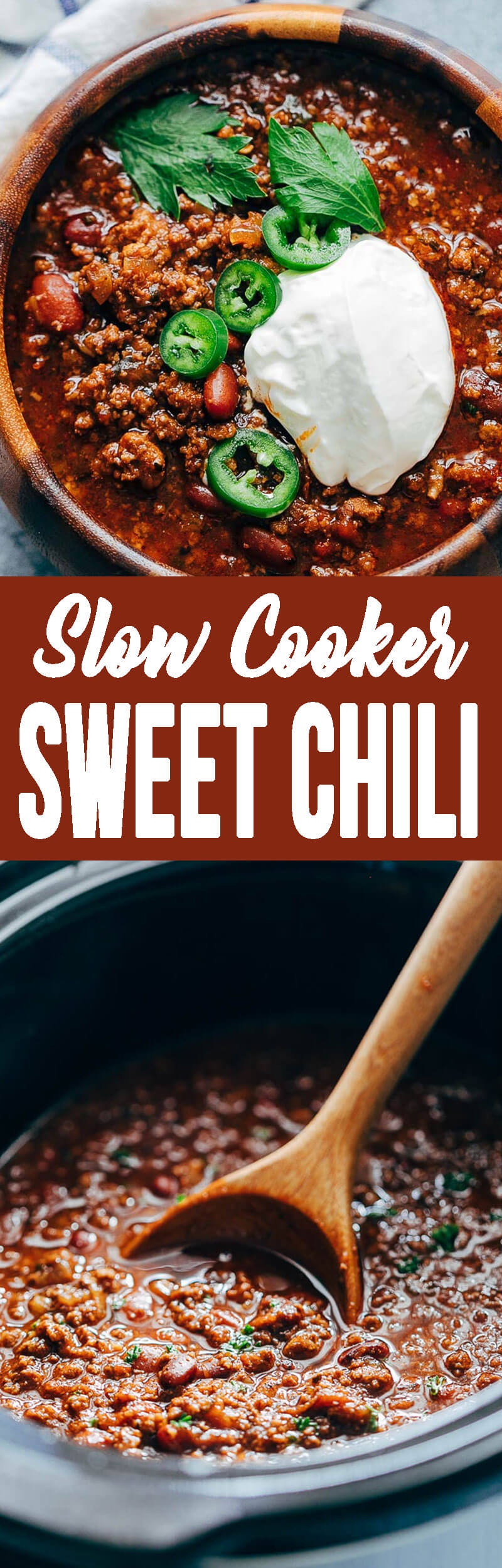 Slow Cooker Sweet Chili