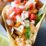Easy to make, delicious, Tilapia Fish Tacos, pan fried