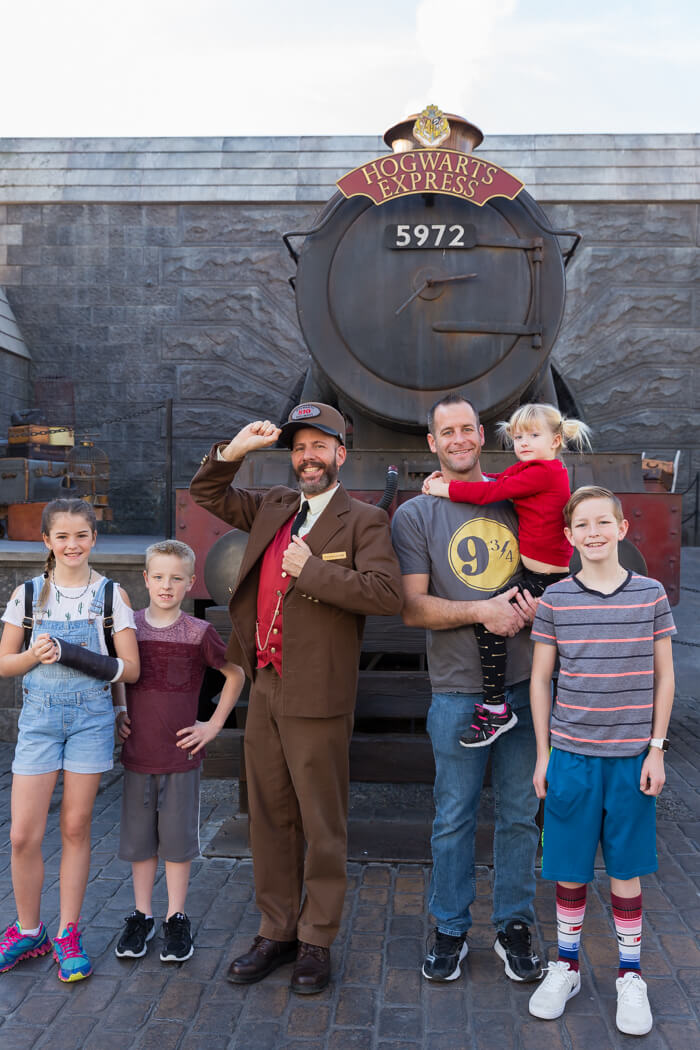 Hogwarts Express at the Wizarding World of Harry Potter