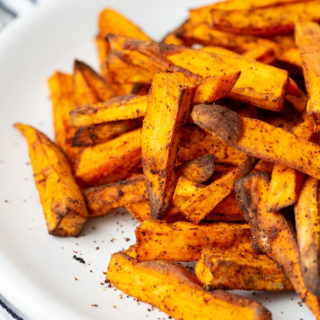 sweet potato air fryer fries