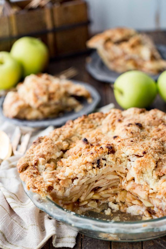 Dutch apple pie is a mouthwatering pie you won't be able to get enough of.