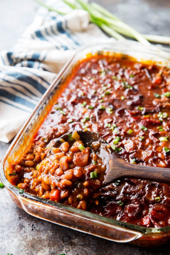 Ultimate Baked beans are a great side dish for parties and bbq's, take it to a pot luck and everyone will love you