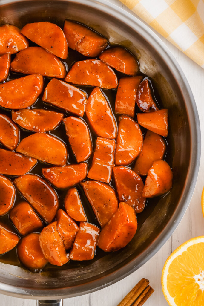 cooking candied yams