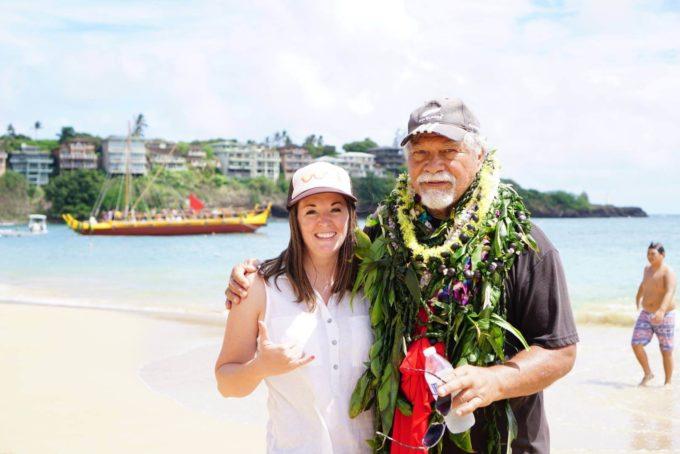 Voyaging Canoe in Kauai John Krouse!