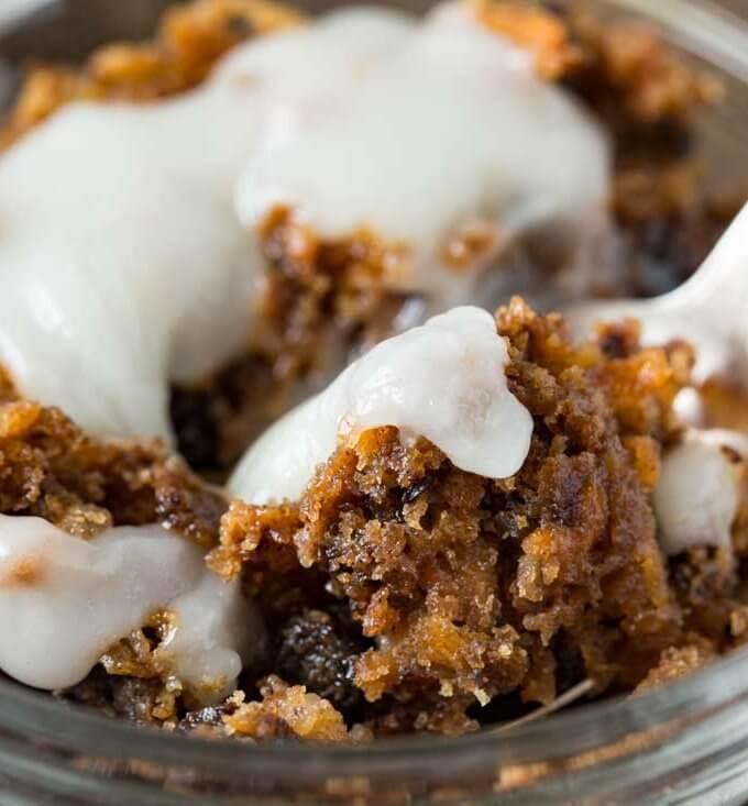 Grandma's Carrot Pudding