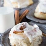 Easy 1 hour cinnamon rolls. They can't get better than this.