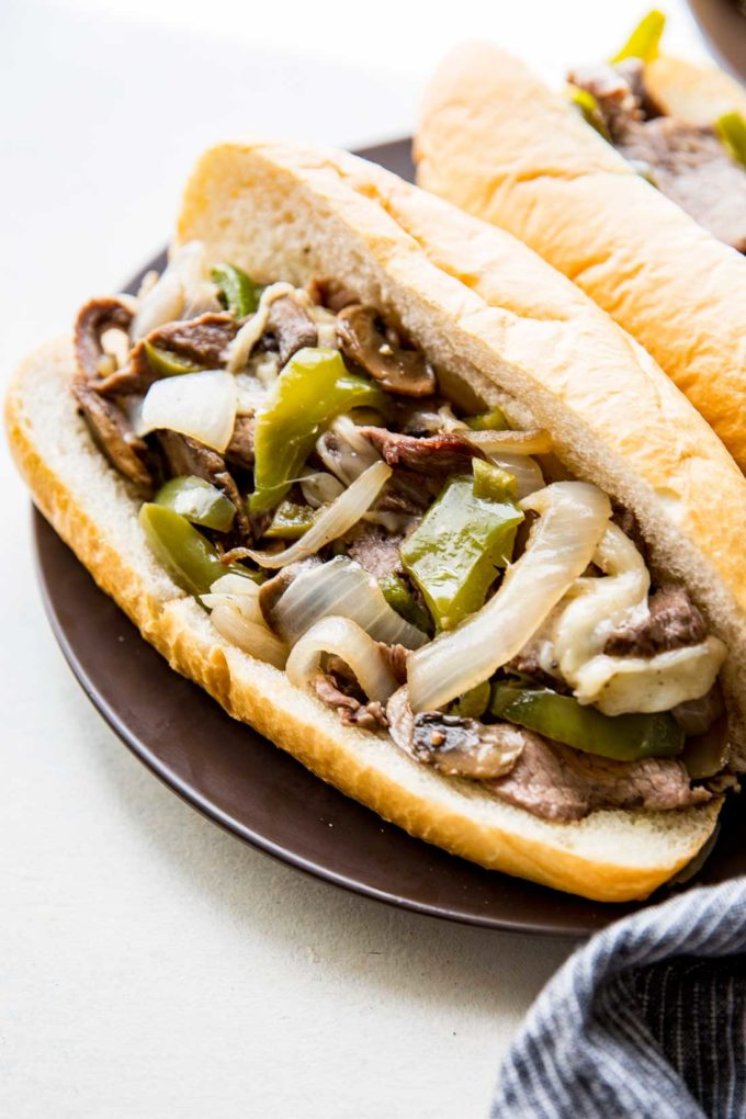 Sheet Pan Philly Cheese Steak Easy Peasy Meals