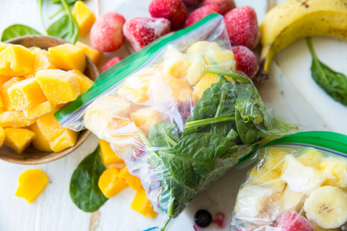 Freezer Smoothie Packs are nutritious and delicious
