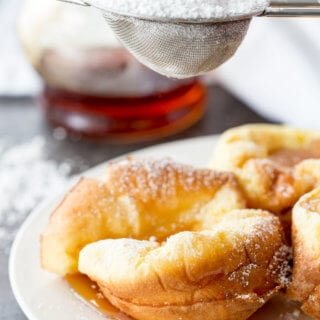 German pancake minis are the perfect breakfast option