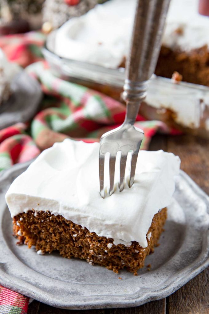 Gingerbread Cake is a Christmas dessert that is a classic, and oh so delicious