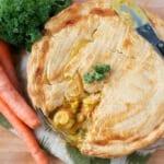 Gluten free seafood pot pie