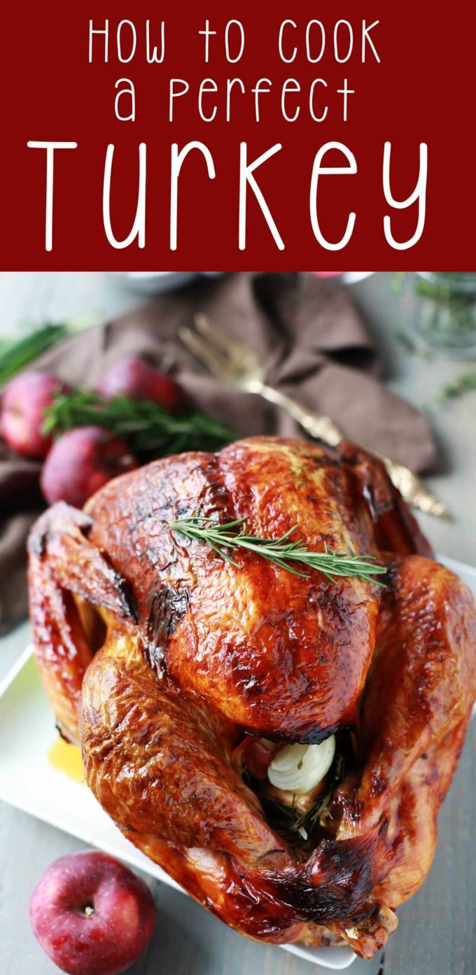How to cook a turkey for Thanksgiving and make it perfect.